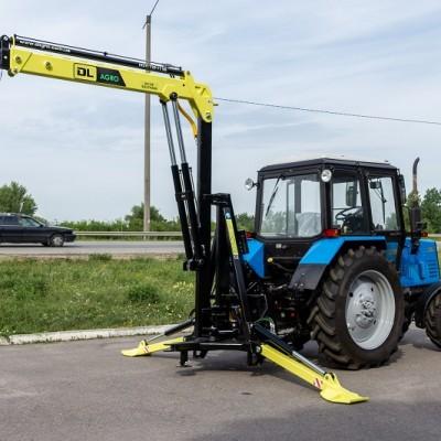 Манипуляторы навесные гидравлические DL Agro, СНТ-1, МГН-1200, Metal-Fach T466 для тракторов
